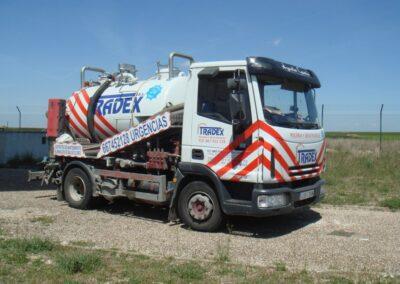 Camión desatascos Tradex