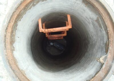 reparación de red de saneamiento en Madrid